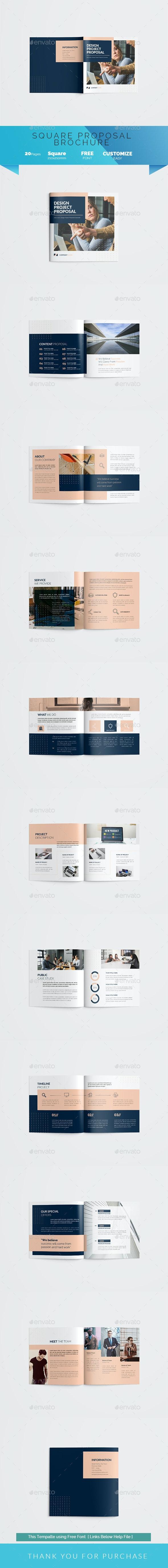 Square Proposal Brochure - Corporate Brochures
