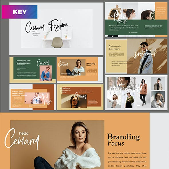 Cemany - Fashion Keynote Template
