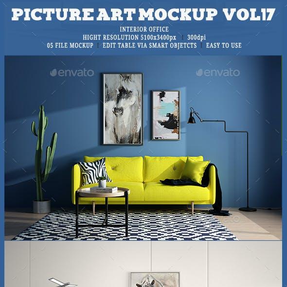 Picture Art Mockup [Vol 17]