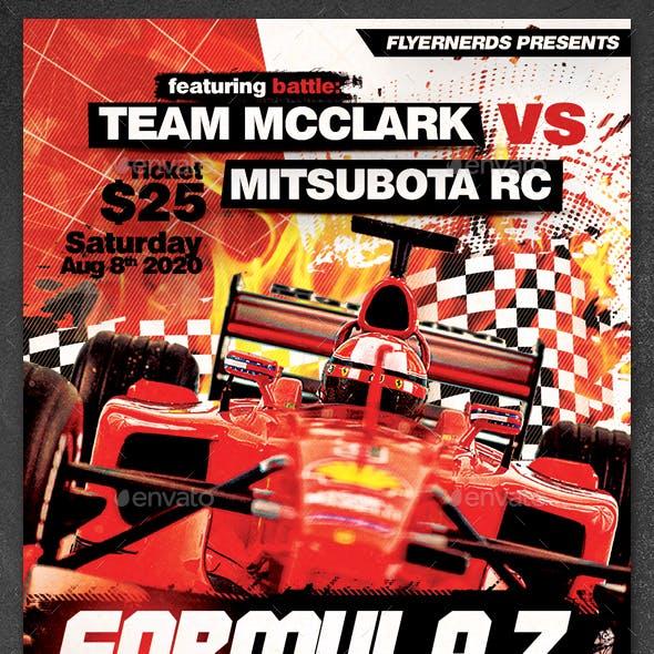 Formula Z Championships Sports Flyer