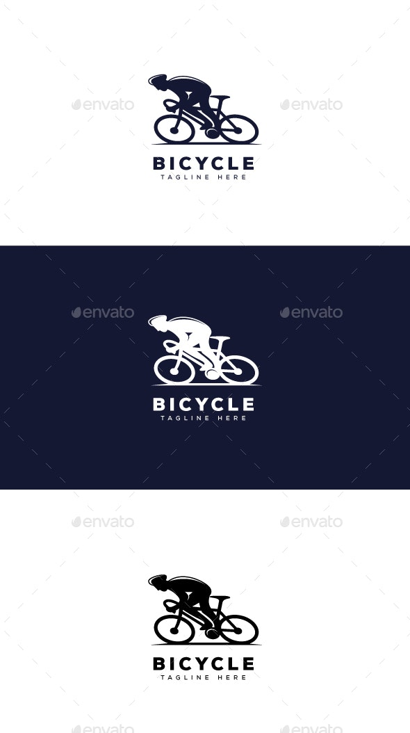 Bicycle Logo - Objects Logo Templates