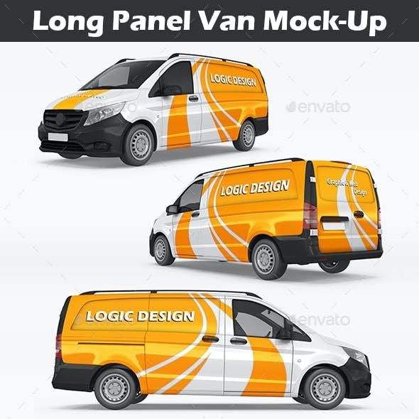 Long Panel Van Mock-Up