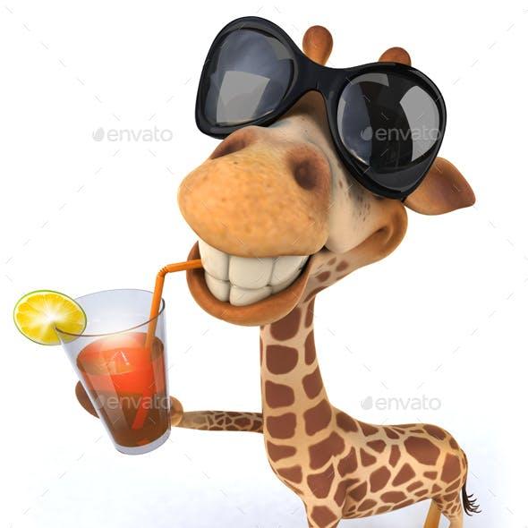 Fun girafe