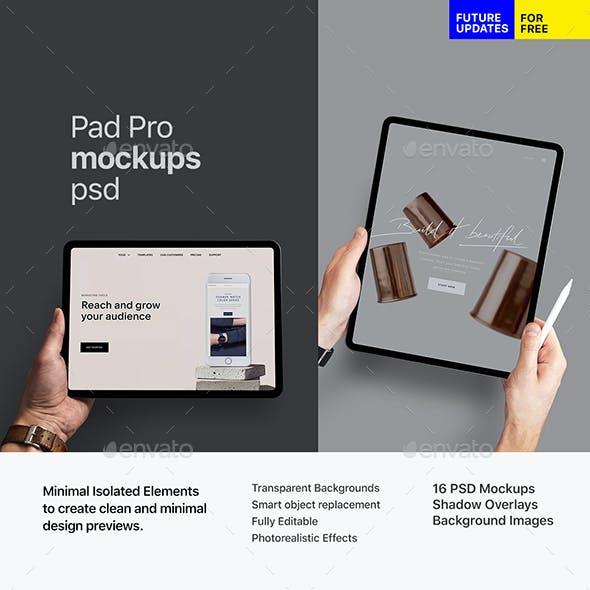 Pad Pro App Mockup