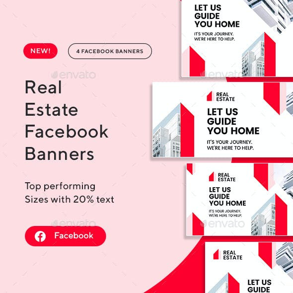 Real Estate Facebook Banners