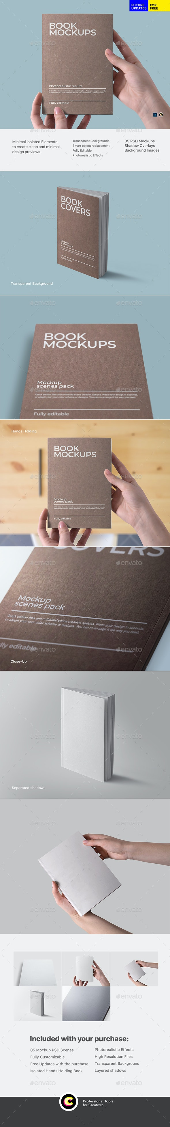 Book Mockup - Books Print