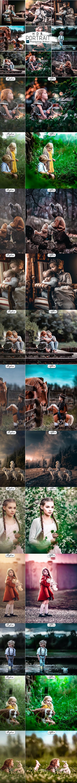 HRD Portrait  Photoshop Actions