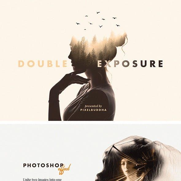 Double Exposure Photoshop Effect