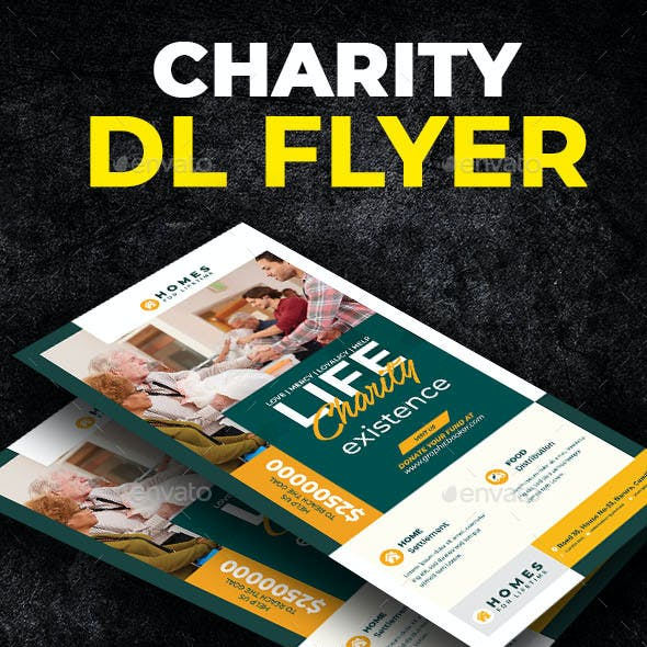 Charity Dl Flyer Template
