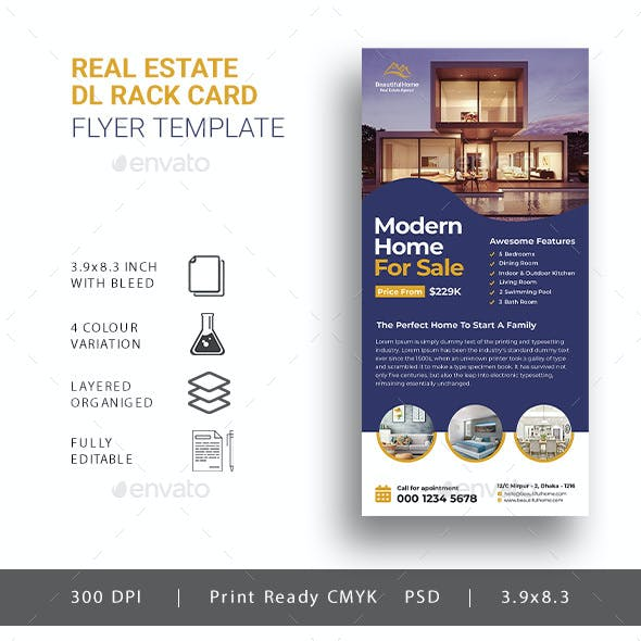 Real Estate DL Flyer Template