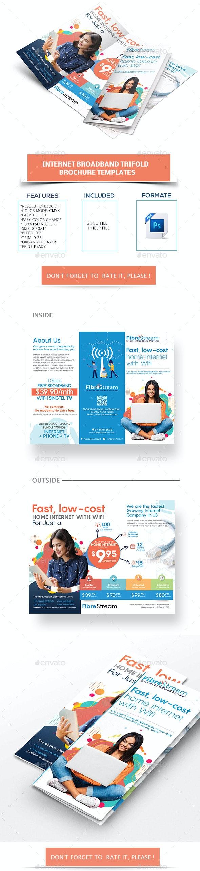 Internet Broadband Promotion Brochure - Corporate Brochures