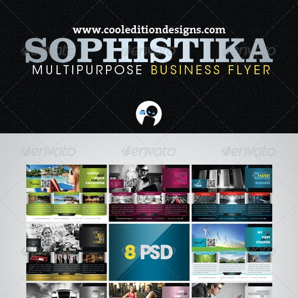 Sophistika - Multipurpose Business Flyer