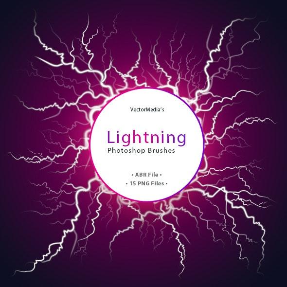 Lightning - Photoshop Brushes - Brushes Photoshop