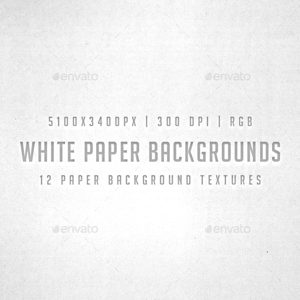 White Paper Backgrounds