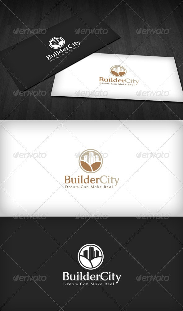 Builder City Logo - Buildings Logo Templates
