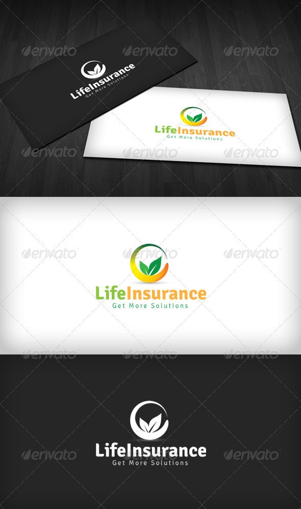 Life Insurance Logo - Vector Abstract