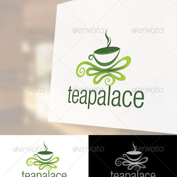 Tea Palace Logo Template