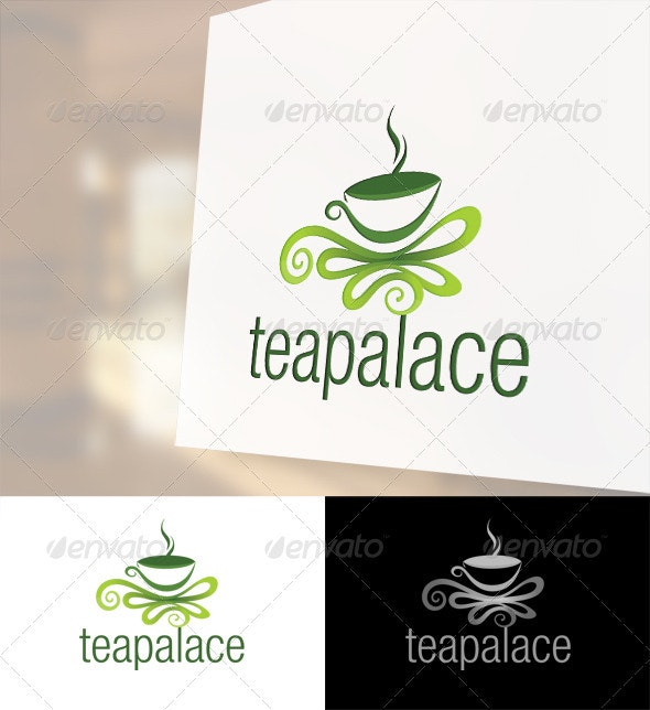 Tea Palace Logo Template - Food Logo Templates