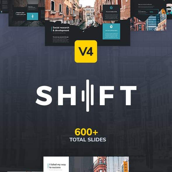 Shift Modern Powerpoint Template