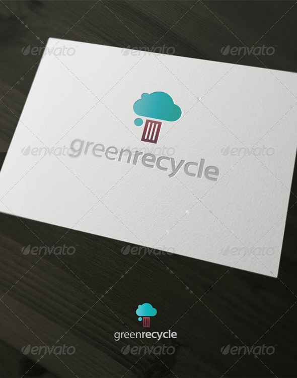 Green Recycle - Nature Logo Templates