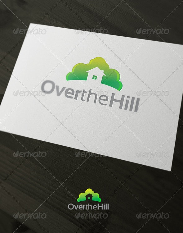 Over the hill - Nature Logo Templates