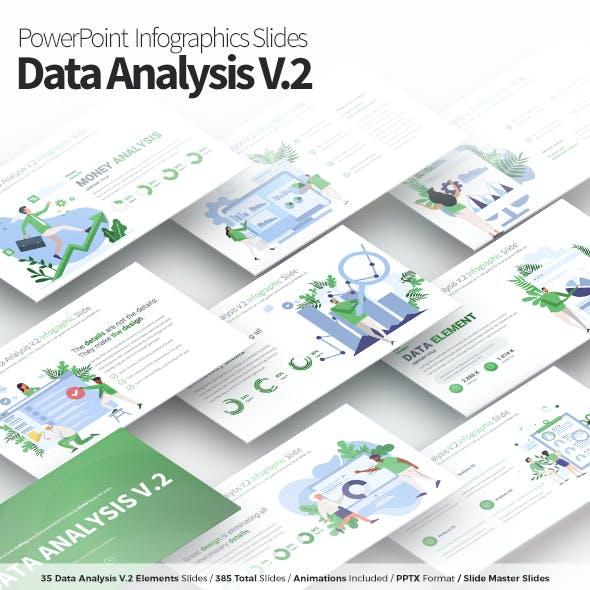 Data Analysis V.2 - PowerPoint Infographics Slides
