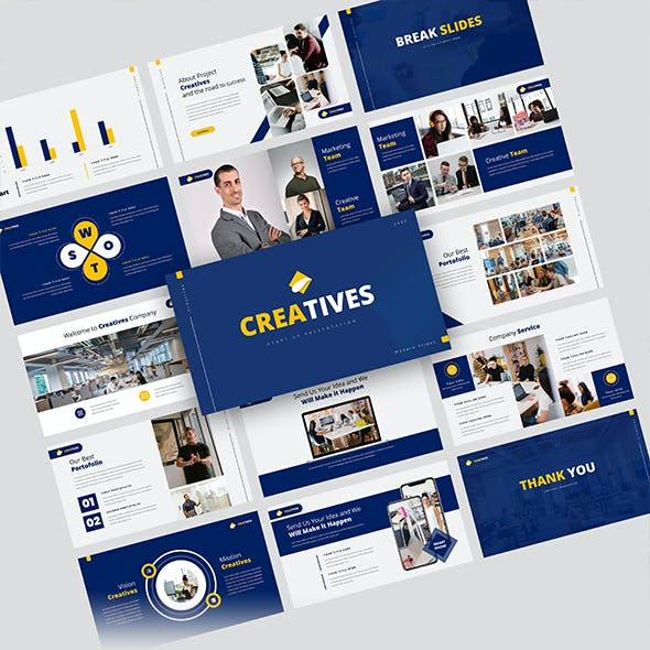 Creatives – Creative Business PowerPoint Template
