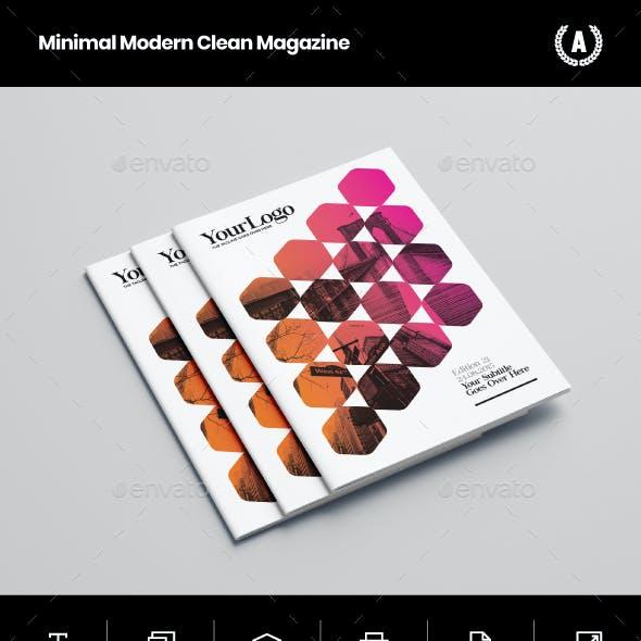 Minimal Modern Clean Magazine