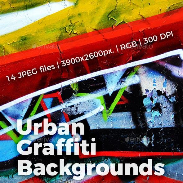 Graffiti Urban Backgrounds