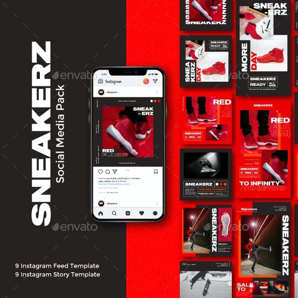 Sneakerz Social Media Pack