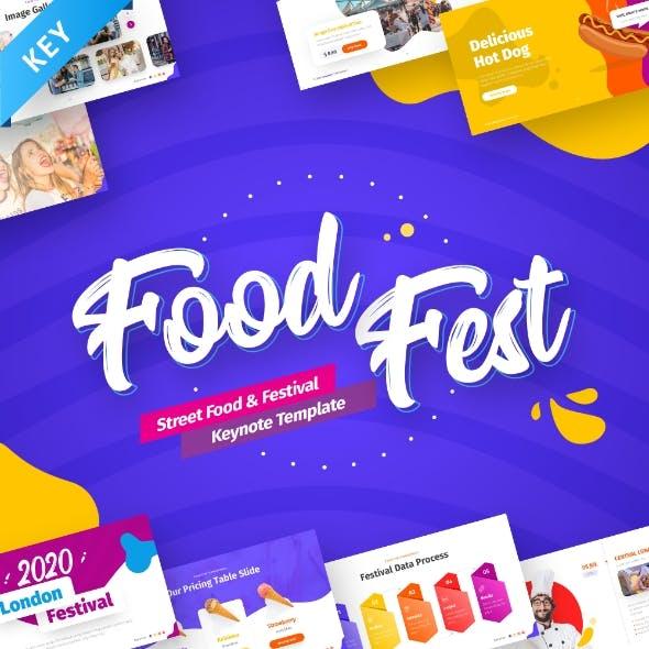 FoodFest - Food Festival Keynote Template