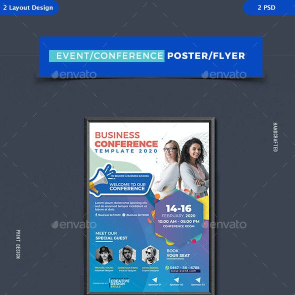 Conference & Seminar Event Flyers