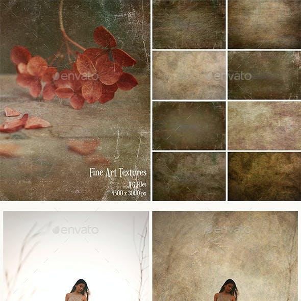 Fine Art Texture Photoshop Overlays