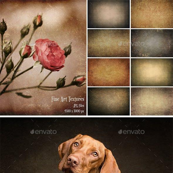 Fine Art Texture Photoshop Overlays 5
