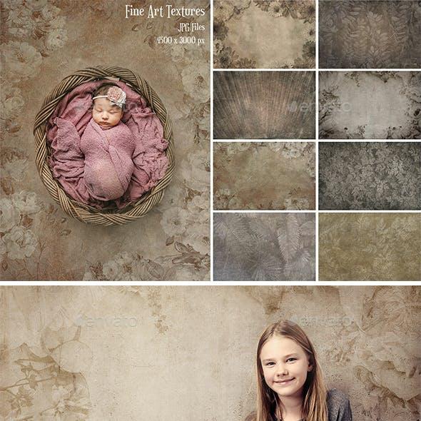 Fine Art Texture Photoshop Overlays 7