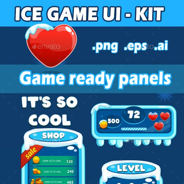 Ice Game UI