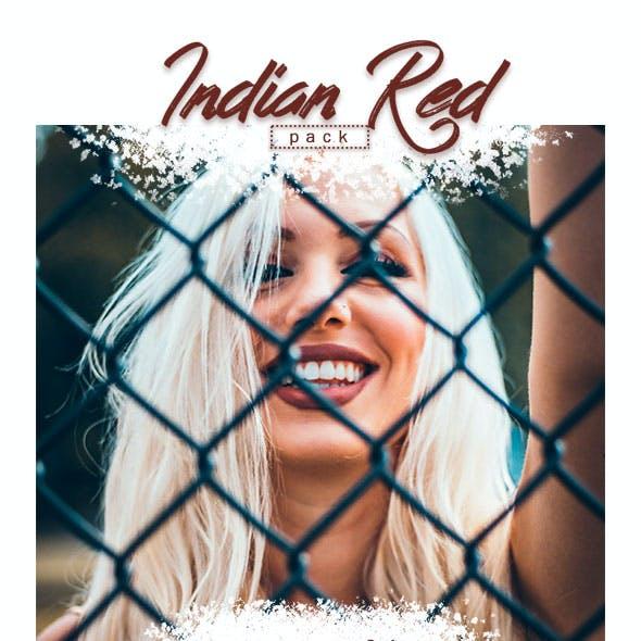 7 Lightroom Presets - Indian Red Pack (+Mobile Version)