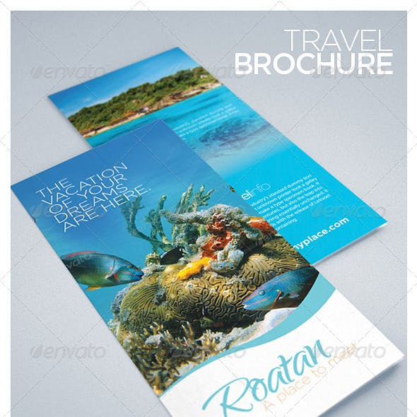 Travel and Tourism Brochure - Caribbean Beach