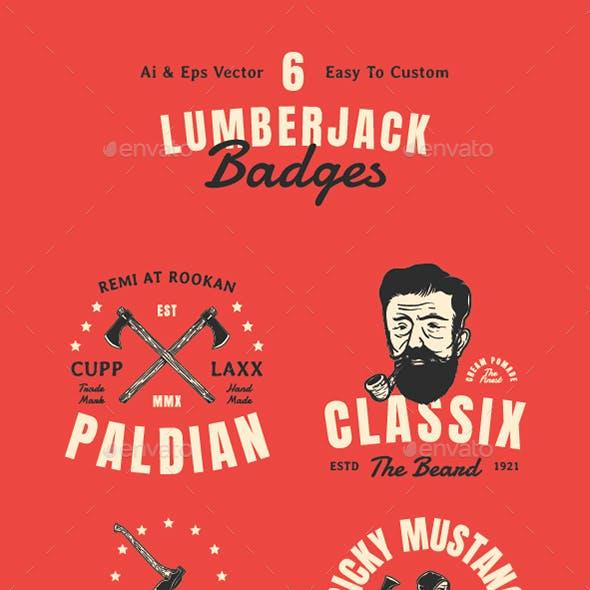 Lumberjack Badges