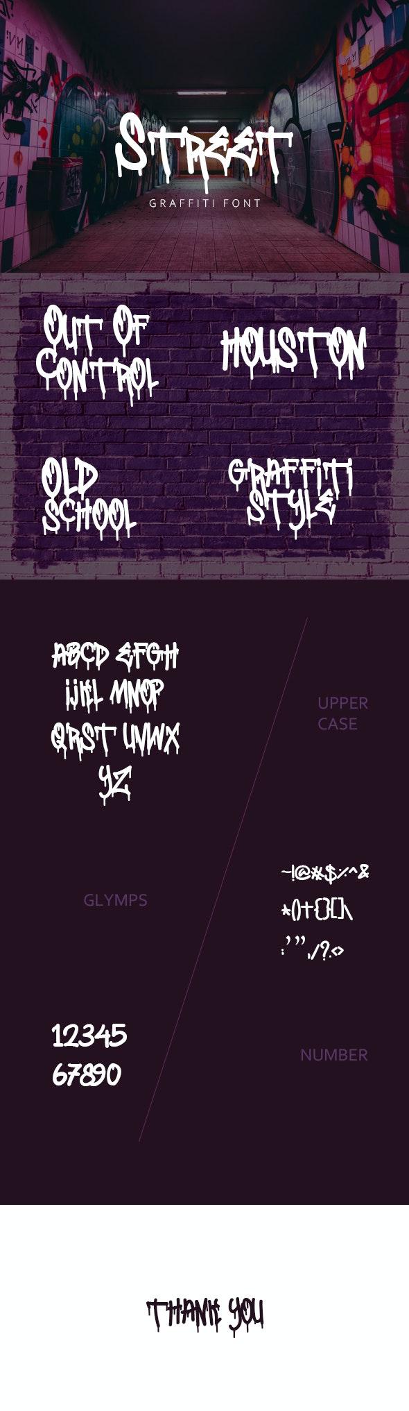 Street Graffiti Fonts - Graffiti Fonts