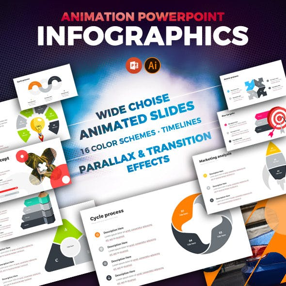 Powerpoint Animated Infographics