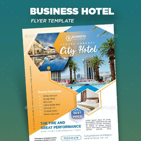 Business Hotel Flyer