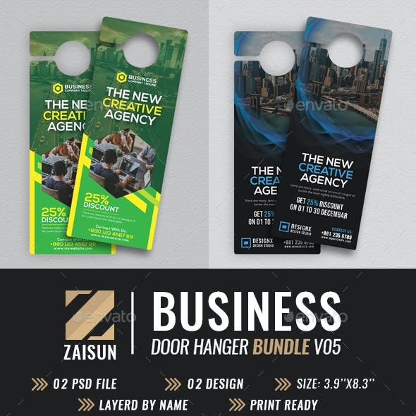Business Door Hanger Bundle V05