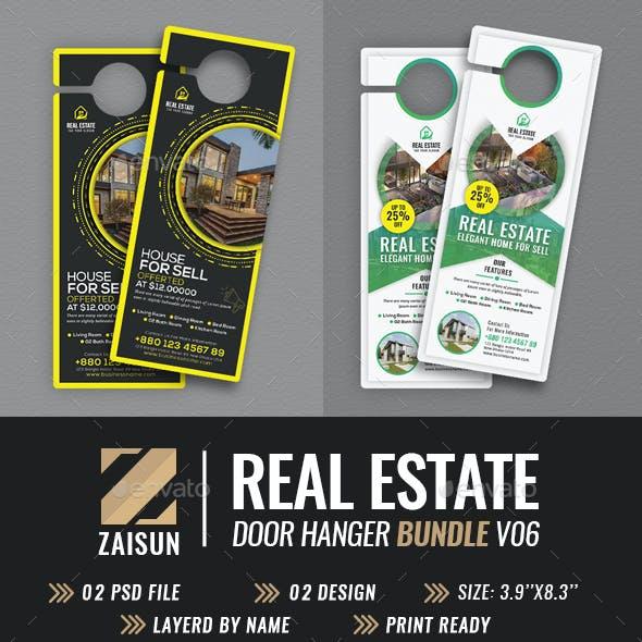 Real Estate Door Hanger Bundle V06