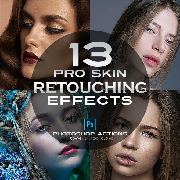 Pro Skin Retouching Actions