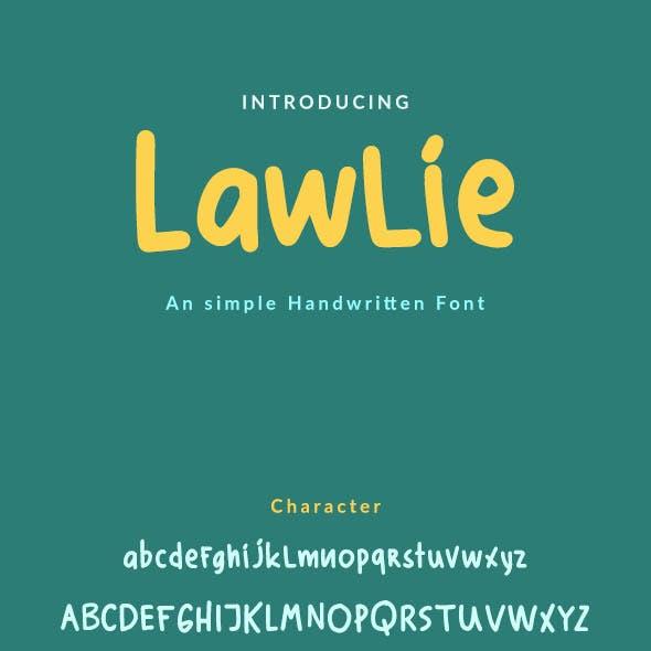 Lawlie - Simple Handwrite