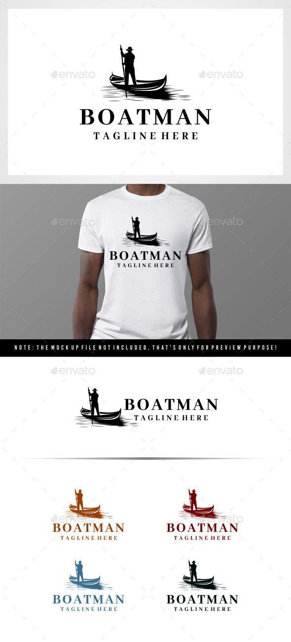 Boatman logo - Symbols Logo Templates