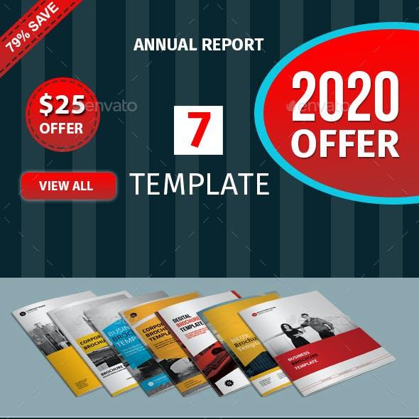 A5 Brochure Template Bundle