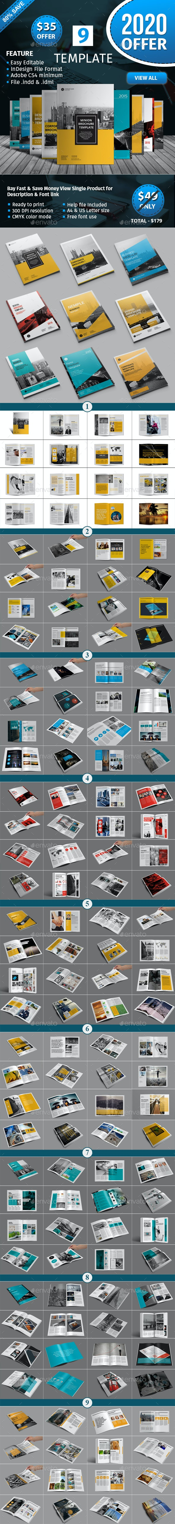 Brochure Template Bundle - Corporate Brochures