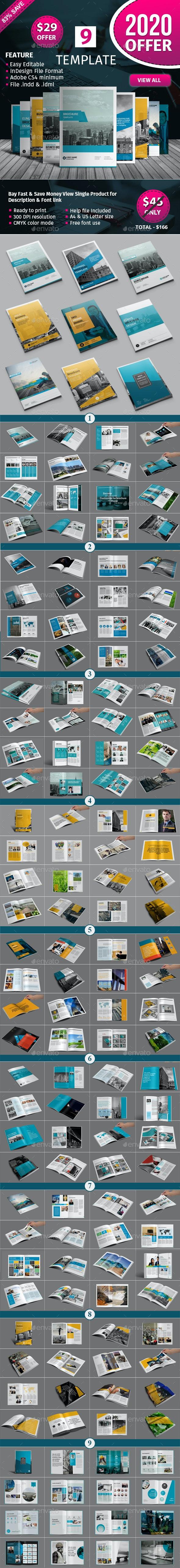 Brochure Template Bundle - 2 - Corporate Brochures